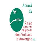 Logo parc naturl régional des volcans d'auvergne