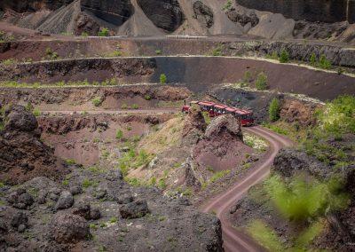 Espace presse | Volcan de Lemptégy - Parcours en train