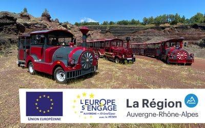 L'Europe s'engage en région Rhône-Alpes à nos côtés.