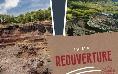 Ouverture du Volcan de Lemptégy le 19 Mai